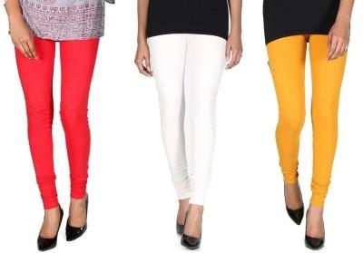 Ally Of Focker Women's Red, White, Yellow Leggings