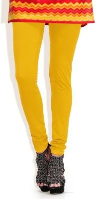 Oleva Women,s Yellow Leggings