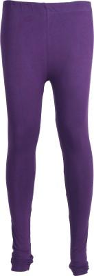 Zwizdot Women's Purple Leggings