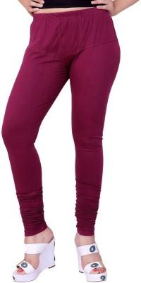 FCK-3 Women's Maroon Leggings