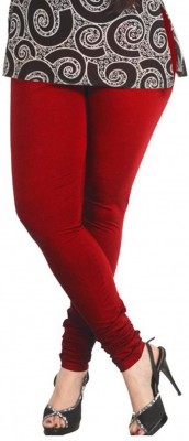 V R SHOPPERS Women's Red Leggings