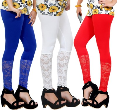 By The Way Women's Red, White, Blue Leggings