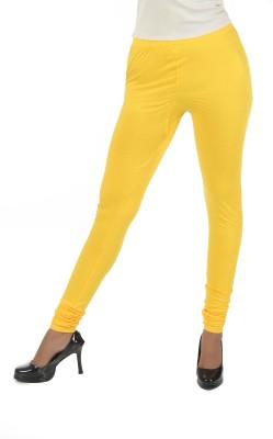 Crezyonline Women's Yellow Leggings