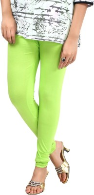Sohniye Women's Light Green Leggings