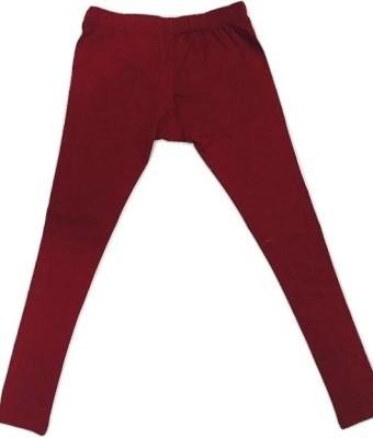 Bistro Women's Maroon Leggings