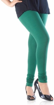 Idesign Women's Dark Green Leggings