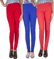 iHeart Women's Blue, Red, Pink Jeggings best price on Flipkart @ Rs. 999