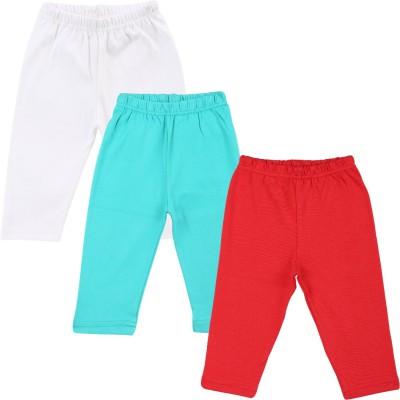 Color Fly Baby Girls Red, Green, White Leggings
