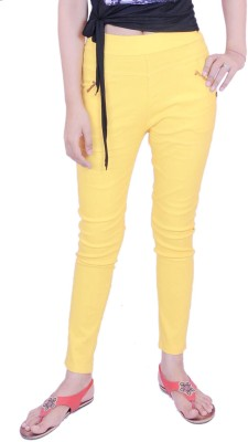 Krazzy Collection Women's Yellow Jeggings