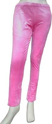 Miraaya Women's Pink Jeggings