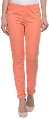 Hapuka Women's Orange Jeggings