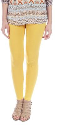 Jove Fashion Women's Yellow Leggings
