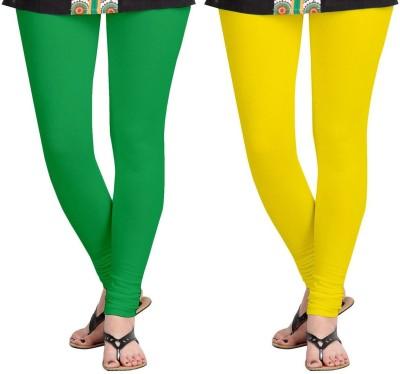 AF Sayonara Women's Green, Yellow Leggings