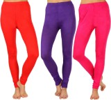 SLS Women's Red, Purple, Pink Leggings (...
