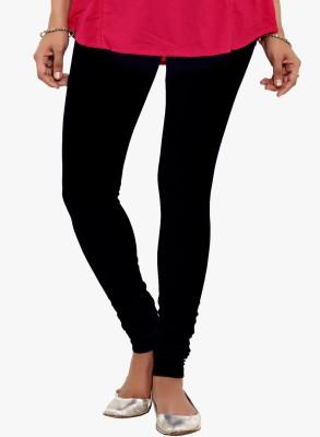 Saree Exotica Women's Black, Blue Leggings