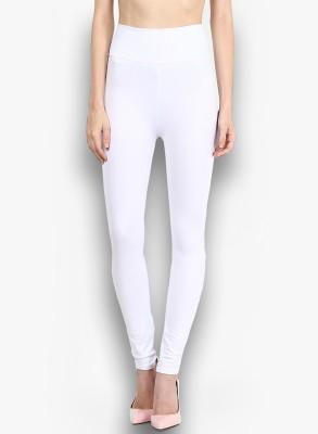 Saree Exotica Women's White, Red Leggings