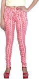Fashion Stylus Women's Pink Jeggings