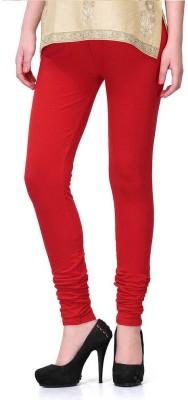 Fadattire Women's Red Leggings
