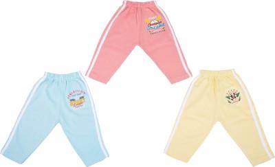 Cucumber Baby Girl's Pink, Yellow, Blue Leggings