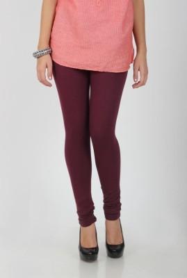 Ami Women's Maroon Leggings