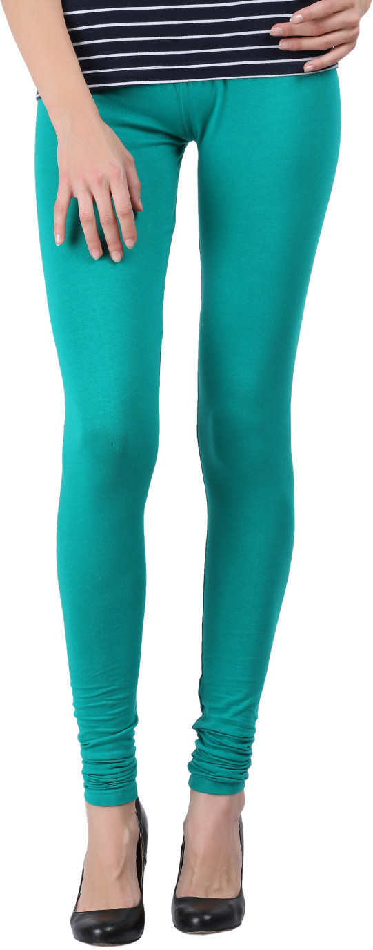 Black Milan Womens Green Leggings
