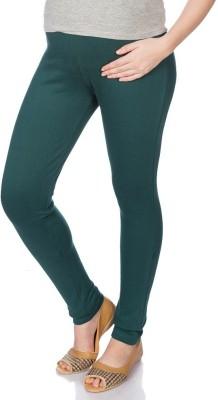 Goldstroms Womens Maternity Wear Green Leggings