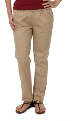 Irene Women's Beige Treggings
