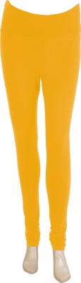 Mee Mee Women's Yellow Leggings