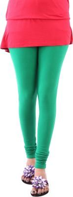 Goyal Arts Women's Green Leggings