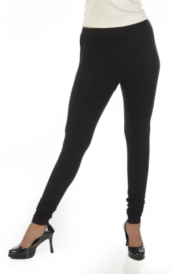 Crezyonline Women's Black Leggings