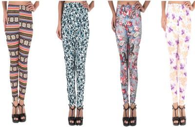 Elegante Women's Multicolor Leggings
