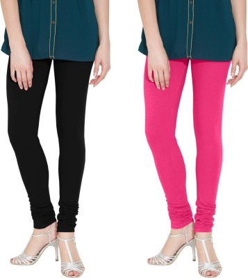Nicewear Women's Black, Pink Leggings