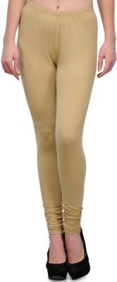 JUST CLIKK Women's Gold Leggings