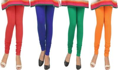 Agrima Fashion Women's Red, Blue, Green, Orange Leggings