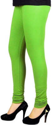 vivancreation Girl's Green Leggings
