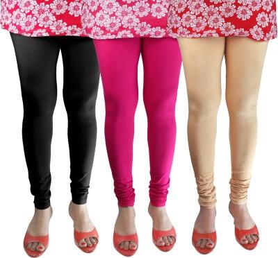 Green Zone Women's Black, Pink, Beige Leggings