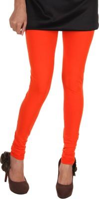 Itnol International Women's Orange, Black Leggings