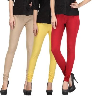 FnMe Girl's Multicolor Leggings