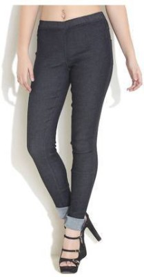 Kangaroo's Jeans Women's Black Jeggings