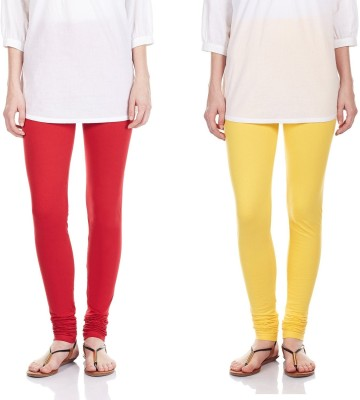 SRS Women's Red, Yellow Leggings
