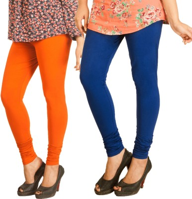Berries Women's Orange, Dark Blue Leggings