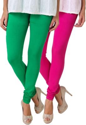 Fasense Women's Green, Pink Leggings
