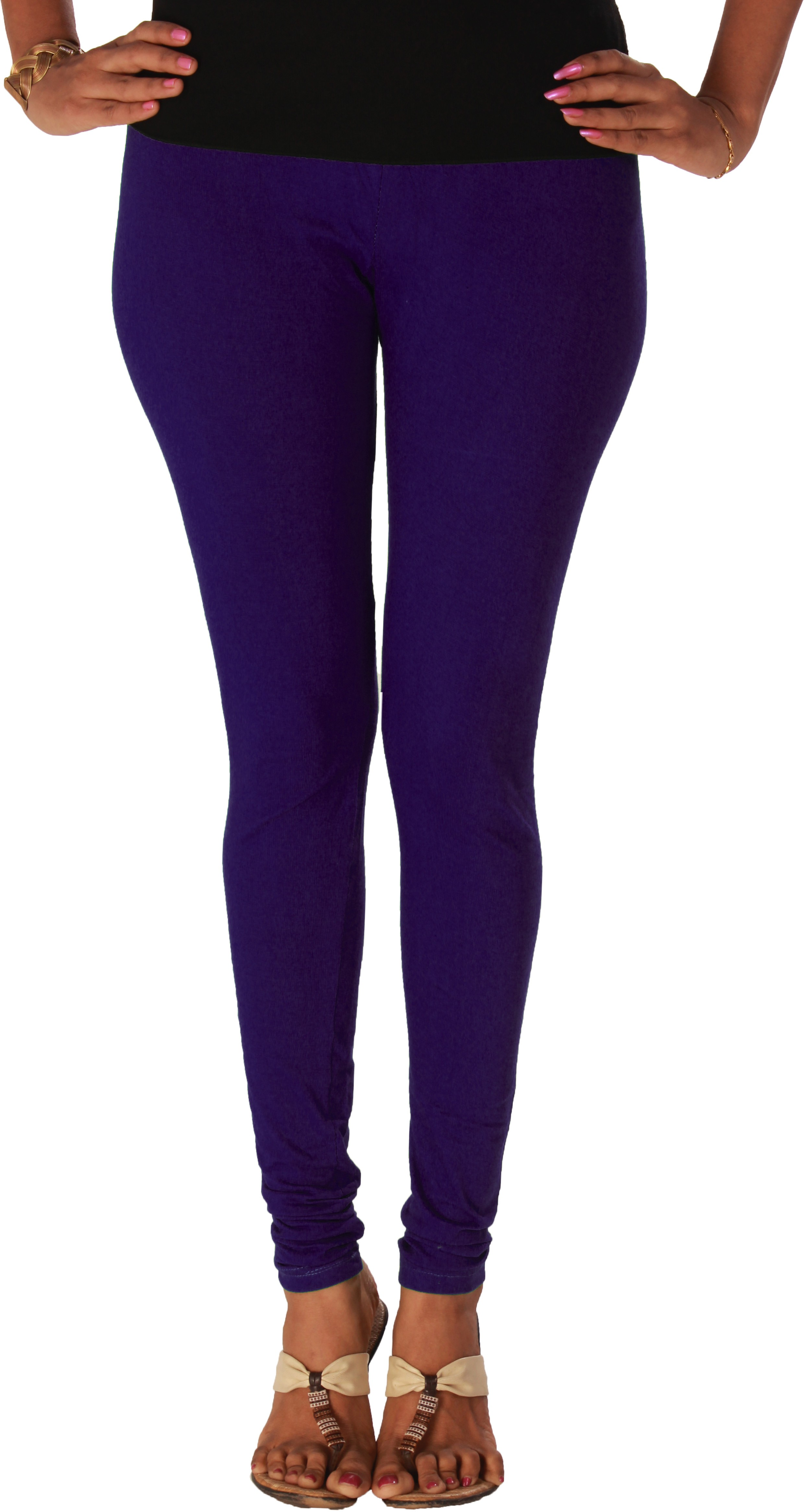 Yaari Womens Purple Leggings