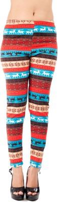 Qurves Women,s Multicolor Leggings