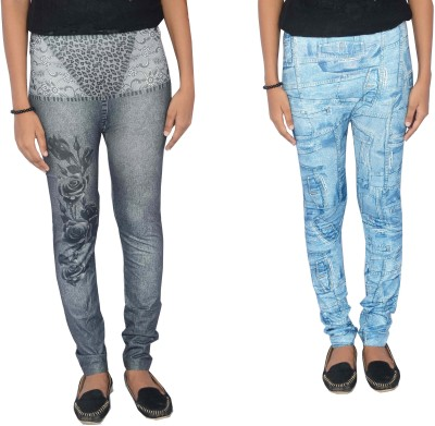 Zadine Women's Black, Blue Jeggings