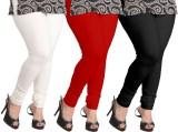 Ambitious Women's White, Black, Red Legg...