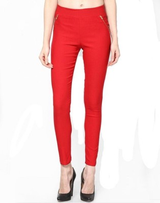 ALS Women's Red Jeggings