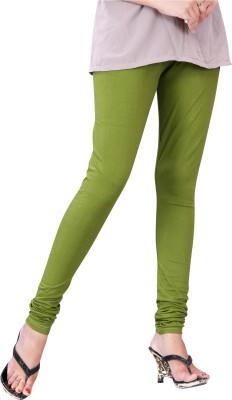 Trendif Women's Green Leggings