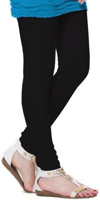 DEVYA FASHION Women's Black Leggings