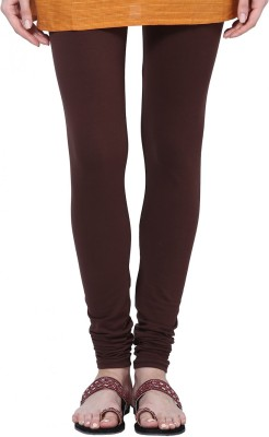 JRS Fashion Women's Brown Leggings